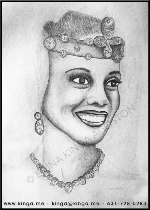 Shari Headley by Kinga